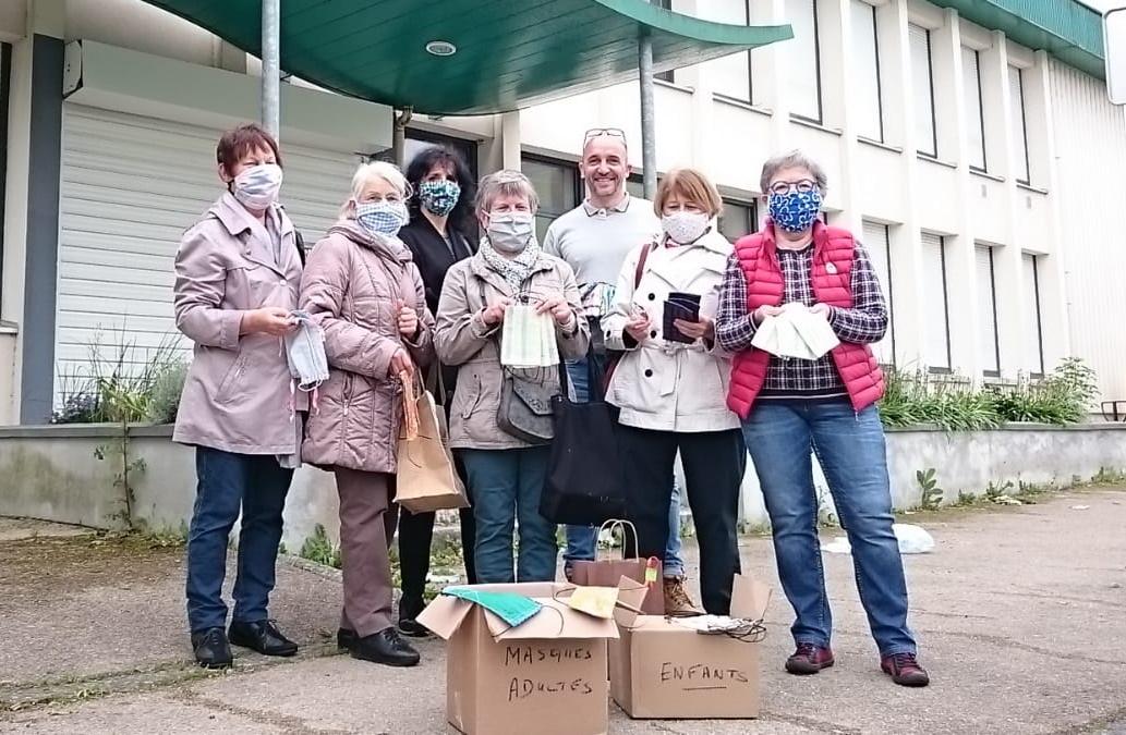Livraison de masques au Centre socioculturel de Plaisance (450 masques)